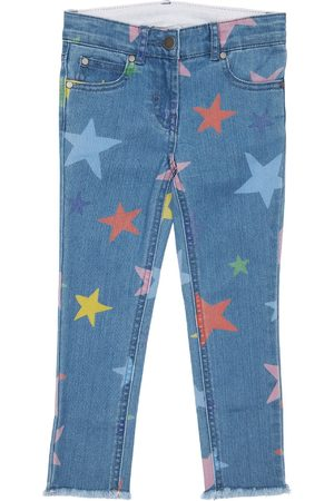 Stella McCartney Bambina Jeans - Jeans In Di Cotone Organico Stretch