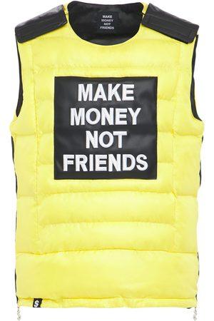 MAKE MONEY NOT FRIENDS Gilet In Cotone Con Logo