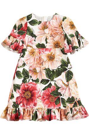 Dolce & Gabbana Vestito In Cady Stampato