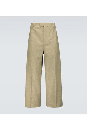 Bottega Veneta Pantaloni in misto lana