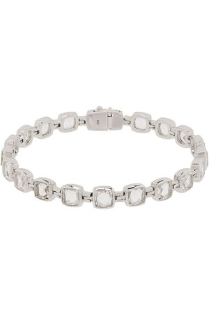 TOM WOOD Bracciale in sterling con cristalli