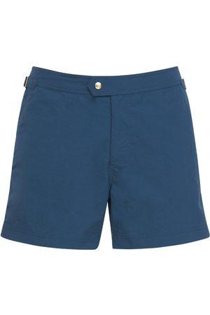 Tom Ford Shorts Mare In Faille Di Nylon