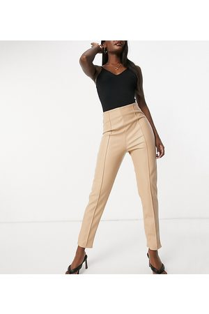 Missguided Donna Leggings & Treggings - Pantaloni in ecopelle PU in coordinato