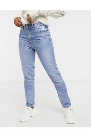 MiH Jeans Mih - Mimi - Jeans dritti a vita alta lavaggio medio denim
