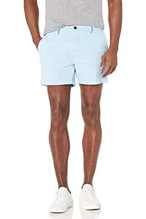 Goodthreads Marchio Amazon - , pantaloncini chino da uomo, comodi, elasticizzati, piatti sul davanti, cavallo 12,7 cm, , W34