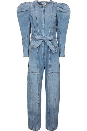 ULLA JOHNSON Jumpsuit di jeans Pascale
