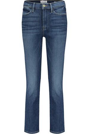 Frame Jeans regular Le High cropped