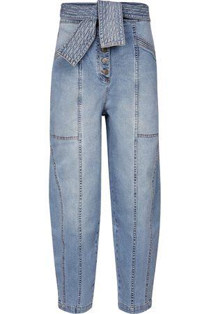 ULLA JOHNSON Jeans Otto a vita alta
