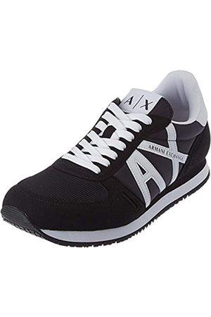 Armani Micro Suede Multicolor Sneakers, Scarpe da Ginnastica Uomo, , 45 EU