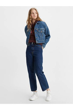 Levi's Ribcage Straight Ankle Jeans Neutral / Noe Dark Mineral