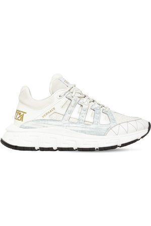 """VERSACE Sneakers """"tri Greca"""" Con Logo 40mm"""