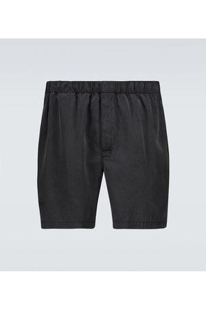 Bottega Veneta Shorts in twill di seta