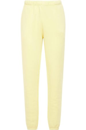 Les Tien Pantaloni In Felpa Di Cotone