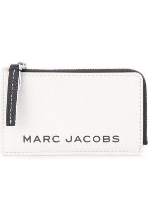 Marc Jacobs Portatessere The The Colorblock Small Top Zip bianco e nero