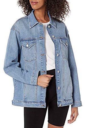 The Drop Andrea, Giacca di Jeans, Vestibilità Oversize, Clearwater, 3XL
