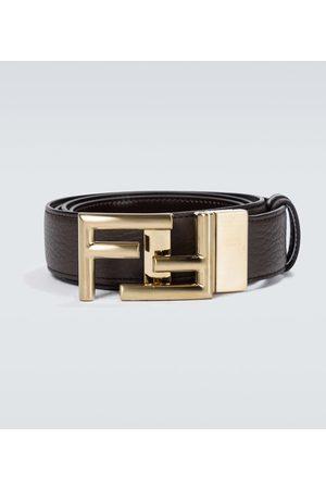 Fendi Cintura in pelle FF