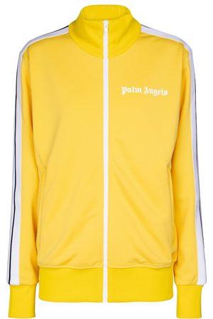 Palm Angels Felpa sportiva in jersey tecnico