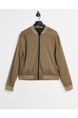 River Island Giacca bomber in twill color cuoio