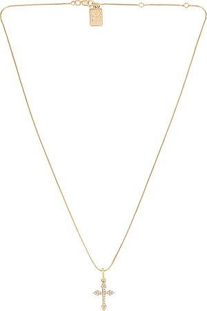 MIRANDA FRYE Harmony Charm & Gigi Chain Necklace in - Metallic . Size all.
