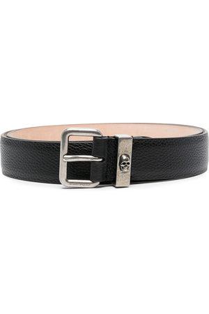 Alexander McQueen Uomo Cinture - Cintura con teschio