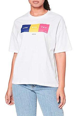 Superdry City Unity Box Fit Tee T-Shirt, Bianco , XXS Donna