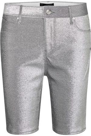 RTA Donna Pantaloncini - Shorts di jeans Toure metallizzati