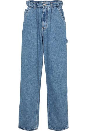 Miu Miu Donna Jeans a vita alta - Jeans regular a vita alta