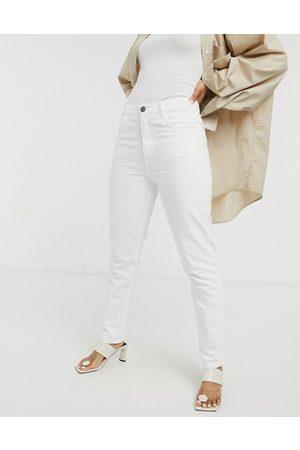 MiH Jeans Mih - Mimi - Jeans bianchi dritti a vita alta