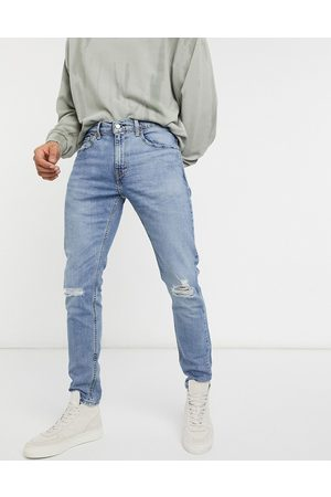 Levi's Levi's - Youth 512 Lo Ball - Jeans slim affusolati invecchiati in Dolf Metal Advanced lavaggio medio