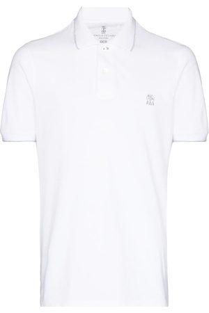Brunello Cucinelli Polo con logo