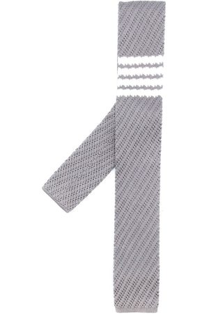 Thom Browne Uomo Papillon - Cravatta con dettaglio a 4 righe