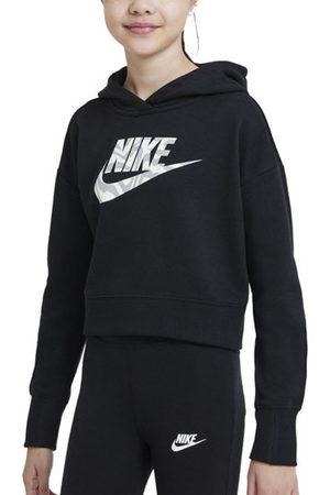 Nike Bambina Felpe - NSW Big Kids' (Girls') Cropped - felpa con cappuccio - ragazza