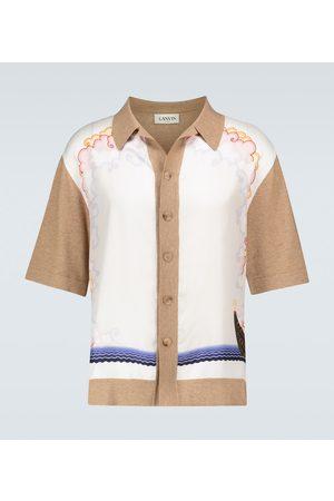 Lanvin Camicia in cotone e lana