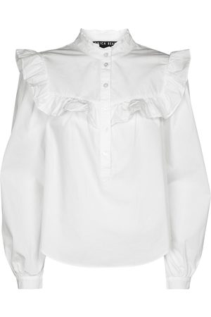 VERONICA BEARD Blusa Sonnet in cotone