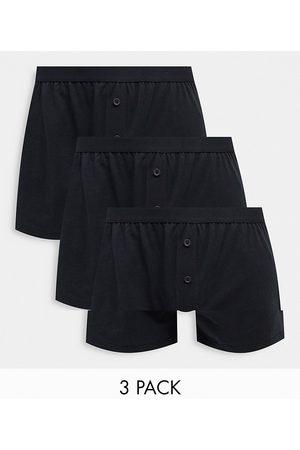 ASOS Confezione da 3 boxer in jersey neri