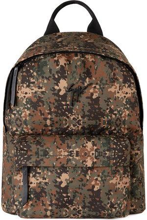 Giuseppe Zanotti Zaino Bud camouflage