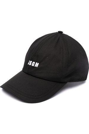 Msgm Cappello da baseball con ricamo