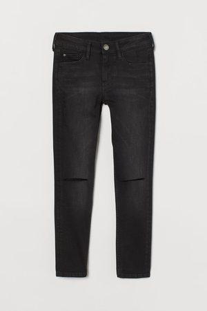 H&M Bambino Pantaloni - Skinny Fit Trashed Jeans
