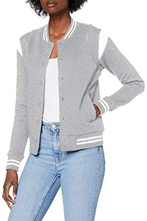 Urban classics Ladies Organic Inset College Sweat Jacket Giacca, , XS Donna