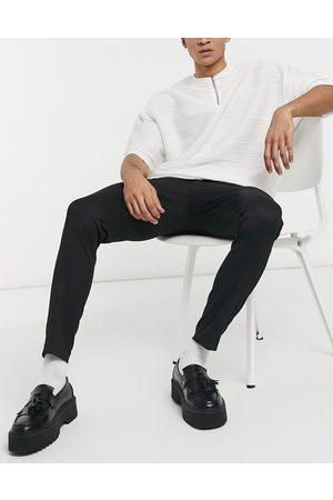 ASOS Uomo Chinos - Pantaloni eleganti super skinny neri