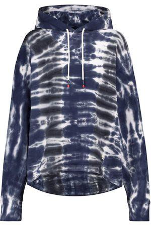 Tory Sport Felpa tie-dye in cotone