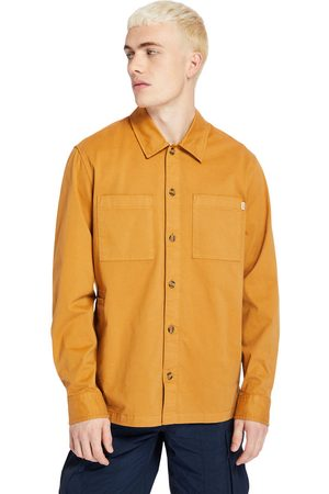 Timberland Camicia Da Uomo In Twill Garment-dyed In