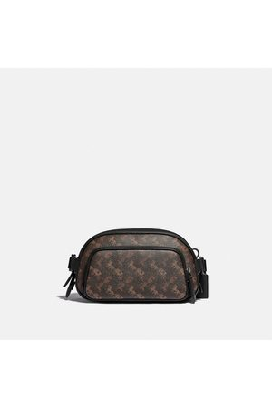 Coach Uomo Cinture - Hitch Belt Bag With Horse And Carriage Print