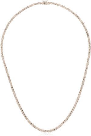 777 Uomo Collane - Collana in oro 18kt con diamanti - 114 - White: