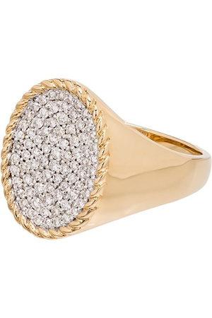 YVONNE LÉON Anello in oro 18kt con diamanti - METALLIC