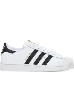 "adidas Bambina Sneakers - Sneakers ""superstar"" In Pelle"