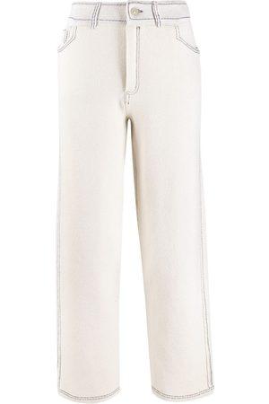 Barrie Pantaloni con cuciture a contrasto