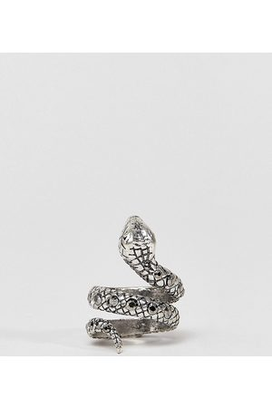 Reclaimed Vintage Inspired - Anello con serpentee pietre - In esclusiva per ASOS