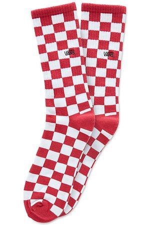 Vans Calzettoni Checkerboard Ii (1 Paio) (red-white Check) Uomo