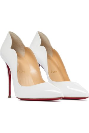 Christian Louboutin Donna A spillo - Pumps Hot Chick 100 in vernice